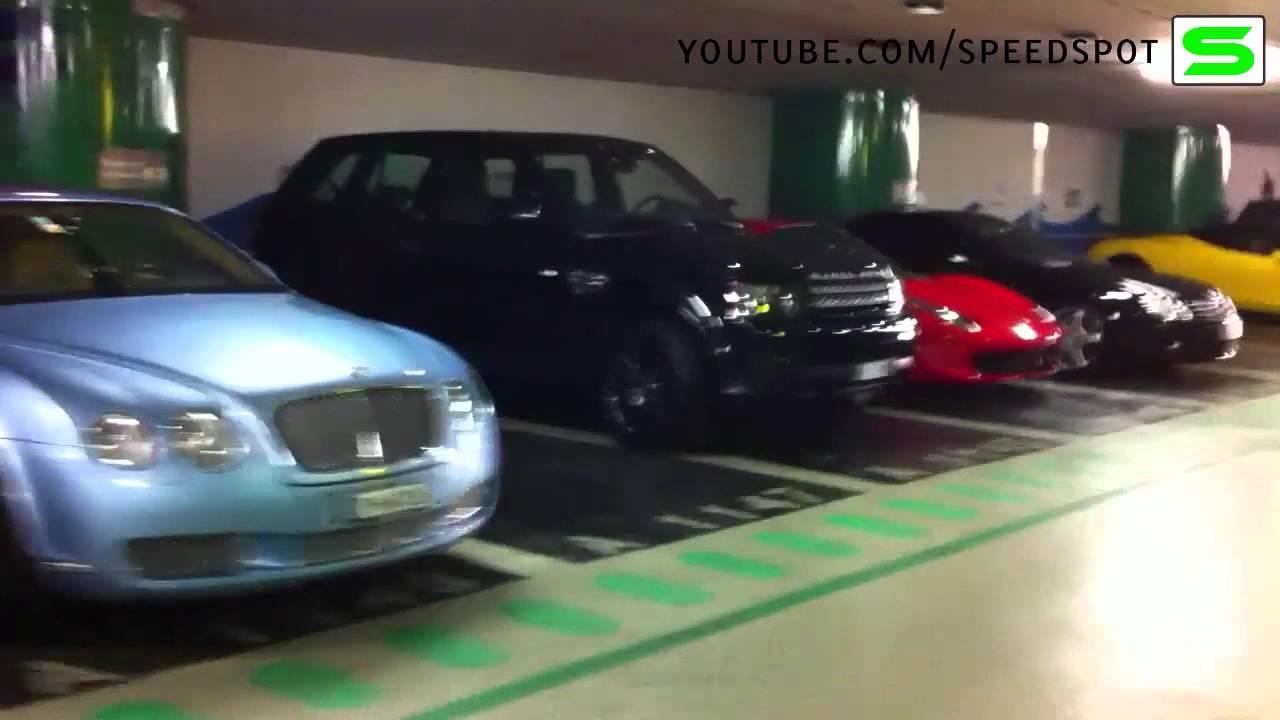 Monaco underground parking - YouTube