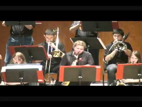 North Florida Christian School Band at 2012 Jazz Festival - 02/17/2012