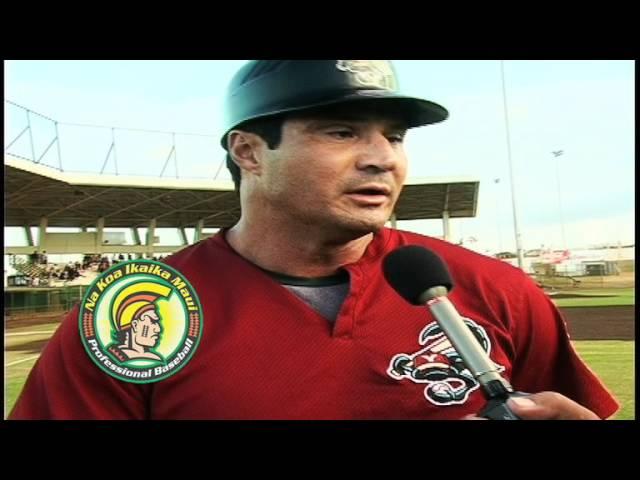 Big Bucks in Baseball - Ozzie Canseco, Yuma Scorpions  team coach
