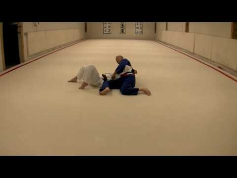 Judo Grappling  Osae Komi Waza  Ushiro Kesa Gatame Image 1