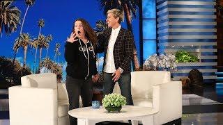 Download Song Ellen Shocks Jeannie With a Huge Surprise Free StafaMp3