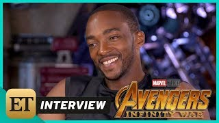Avengers Infinity War Anthony Mackie FULL INTERVIEW