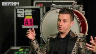 Arctic Monkeys drummer Matt Helders talks about his Premier and Zildjian set-up