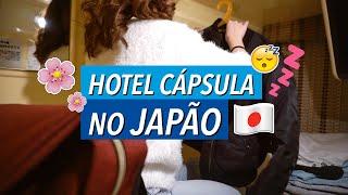 Passei a noite num HOTEL CÁPSULA em TOKYO
