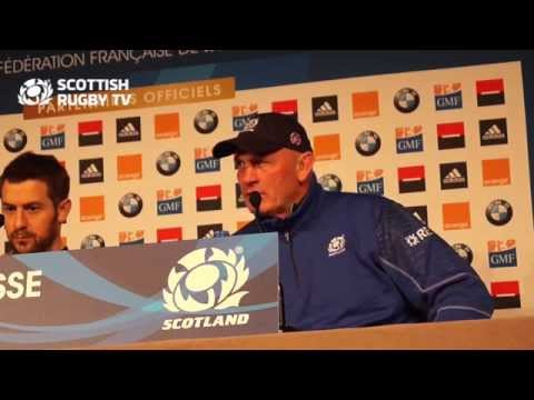 Scotland coach & captain's post-match press conference after the 6 Nations loss to France