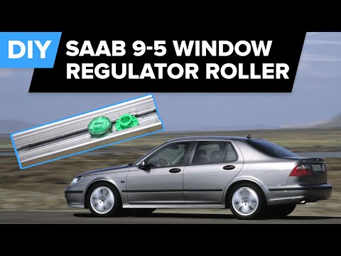Saab Window Regulator Roller Replacement (9-5. 9-3. 900 & Volvo 850. S70. V70) - FCP Euro