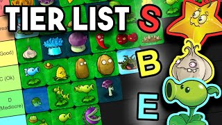 Plants Vs. Zombies TIER LIST - Ranking the Plants From Worst to Best!