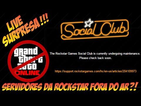 Live Surpresa ♦  ManutenÇÃo Da Rockstar ♦ Gta 5 Offline video