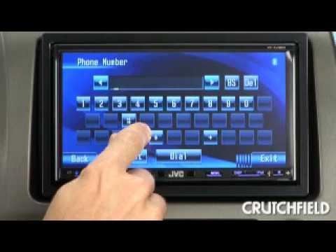 Radio  on Jvc Kw Avx720 And Kw Avx820 Dvd Receivers   Crutchfield Video