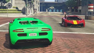 UNEXPECTED BATTLES! (GTA 5 Funny Moments)
