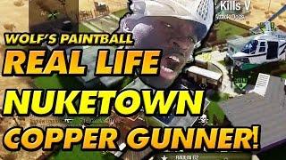 REAL LIFE NUKETOWN CHOPPER GUNNER PAINTBALL Edition!