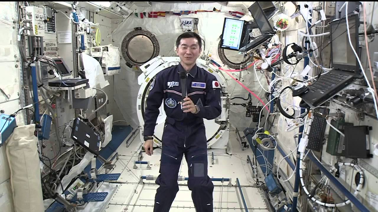 Space to Ground Conversation with Students in Japan