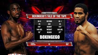 TERENCE CRAWFORD VS FELIX DIAZ Tale Of The Tape (BOXINGEGO FIRST LOOK)