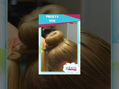 PROSTY KOK  - Najlepsze Fryzury Dla Dzieci