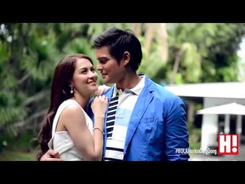 Behind The Scenes: Marian and DingDong for Hola! Philippines August 2014