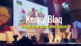 KENNY BLAQ WITH ANOTHER CREATIVE COMEDY PERFORMANCE | APERE CONCERT 2017