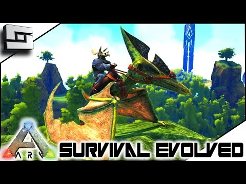 ARK: Survival Evolved - PERFECT 150 PTERANODON! S4E27 ( The Center Map Gameplay )