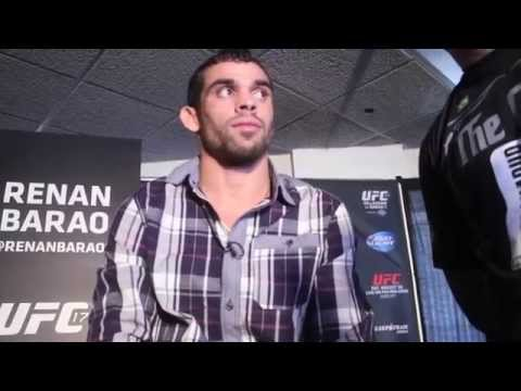 Renan Barao Answers the Critics I Deserve the Rematch UFC 177 Pre Fight