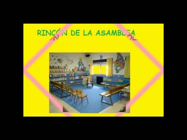 LOS RINCONES EN EDUCACIÓN INFANTIL