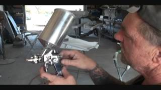(HVLP) High Volume/Low Pressure Spray Gun Settings And Spray Techniques