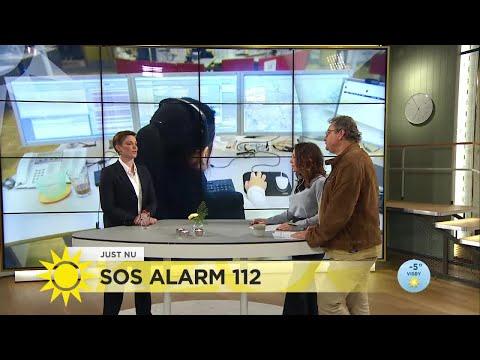 Nu tar SOS-alarm till nya metoder för att slippa knäppa samtal till 112  - Nyhetsmorgon (TV4)