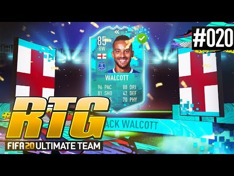 COMPLETING FLASHBACK WALCOTT! - #FIFA20 Road to Glory! #20 Ultimate Team
