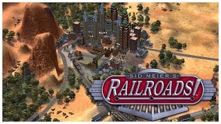 Sid Meier's Railroads! - The Baron - Let's Play / Gameplay / Beverage