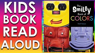 CHILDREN'S BOOK READ ALOUD TO FOLLOW THE SMILEY BOOK OF COLORS