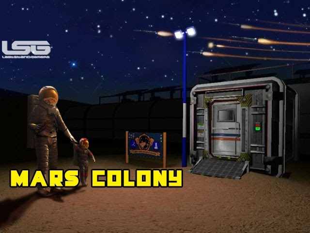Mars Colony Simulator - Surviving The Red Planet #1