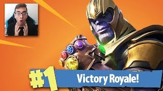 VICTORY ROYALE IN *NIEUW* THANOS INFINITY GAUNTLET AVENGERS GAMEMODE? (Fortnite: Battle Royale)