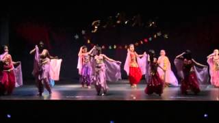 Mix Pop Árabe - Grupo Infantil 8 a 10 años Academia de Danzas Árabes Farah, Valdivia