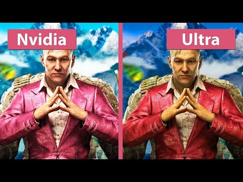 Far Cry 4 – PC Ultra vs. NVIDIA Gameworks Features (+Ultra) Graphics Comparison [WQHD]