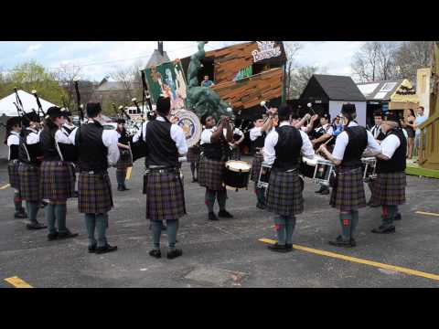 Carnegie Mellon Pipe Band - Carnival 2013