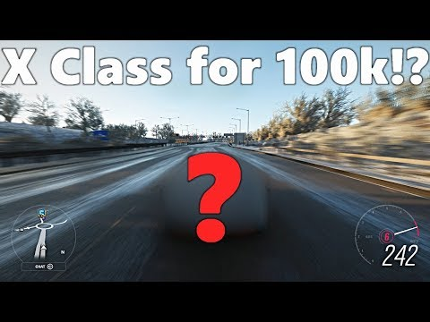 Forza Horizon 4: CHEAPEST X CLASS!?