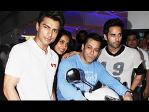 Salman Khan at 'O Teri' Special Screening | Pulkit Samrat, Bilal Amrohi, Sarah Jane Dias