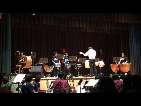 Van Nuys Middle School PITS Show - Percussion