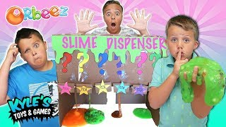 Mystery SLIME Dispenser!?  Funny Cardboard Vending Machine Joke!