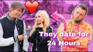 Letting My BEST FRIEND Date My GIRLFRIEND for 24 Hours   Nathan Piland