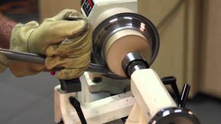 Metal Spinning a Bowl on a Lathe