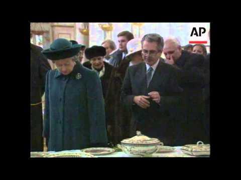 Russia - Elizabeth II Visits St.Petersburg