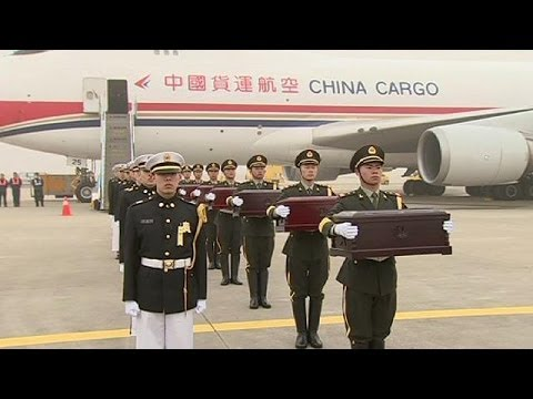 Chinese soldiers killed in the Korean War returned to China