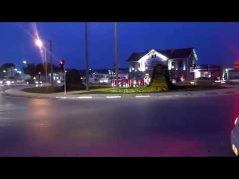 travel to turkey,Night to balikesir HD 2015