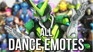 Overwatch Anniversary - ALL DANCE EMOTES