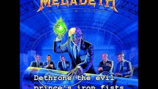 Megadeth - Five Magics (HD)