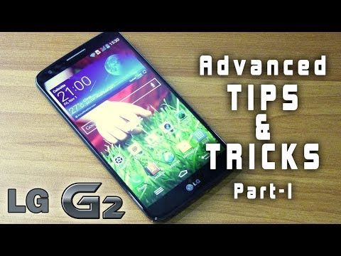 LG G2 hidden TIPS & TRICKS. advanced gestures & features Review (PART I)