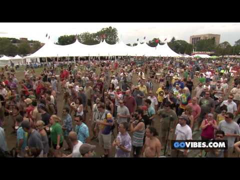 "Railroad Earth performs ""Saddle Of The Sun"" at Gathering of the Vibes Music Festival 2013"