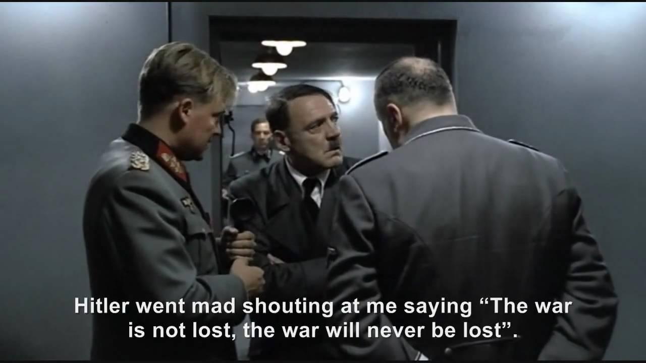 Hitler phones The Bunker Hitler