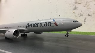 Revell Boeing 777 American assembly