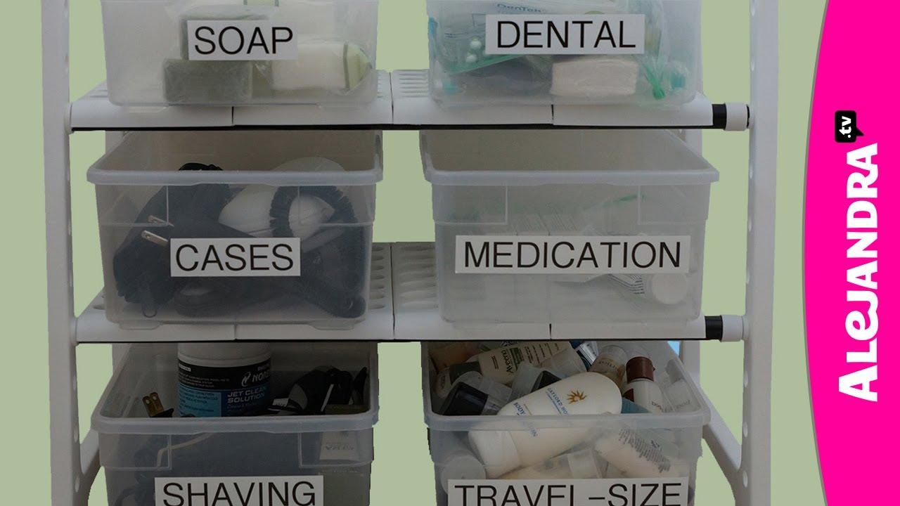 Organized Bathroom Cabinets Bathroom Cabinet Organization