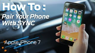 How to Bluetooth Pair Your iPhone w/ SYNC | 2018 Tutorial